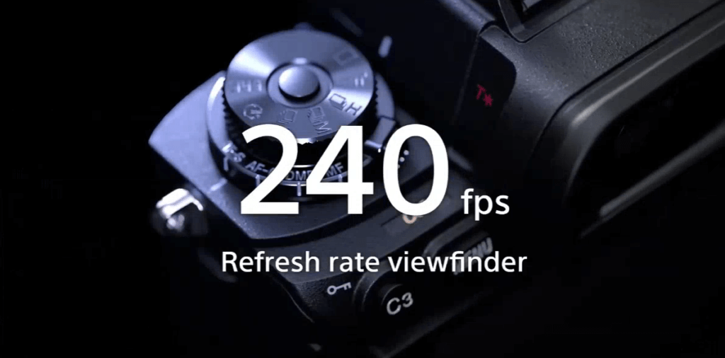 สรุปสเปก Sony Alpha 1 EVF Refresh Rate