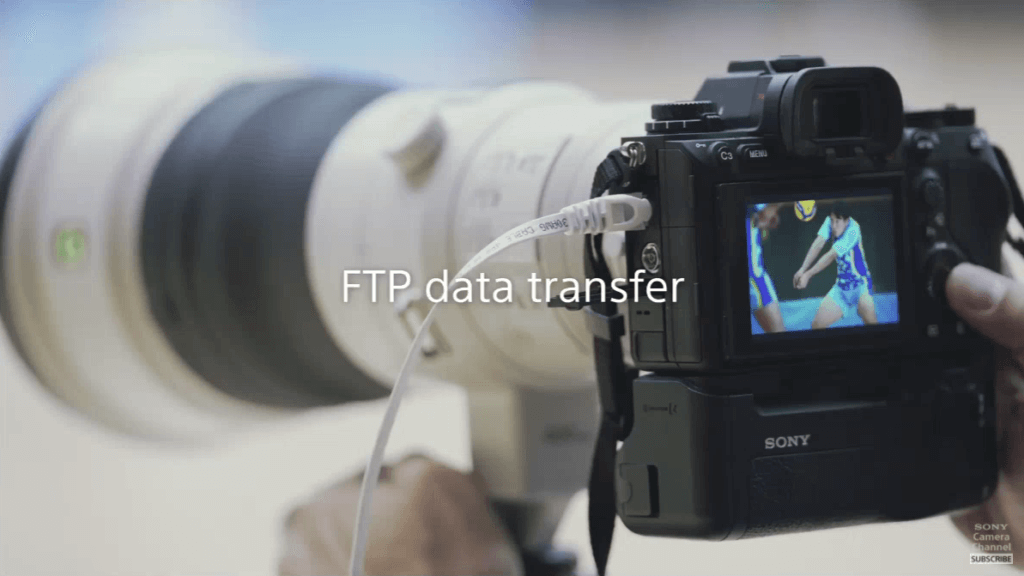 สรุปสเปก Sony Alpha 1 ftp data transfer