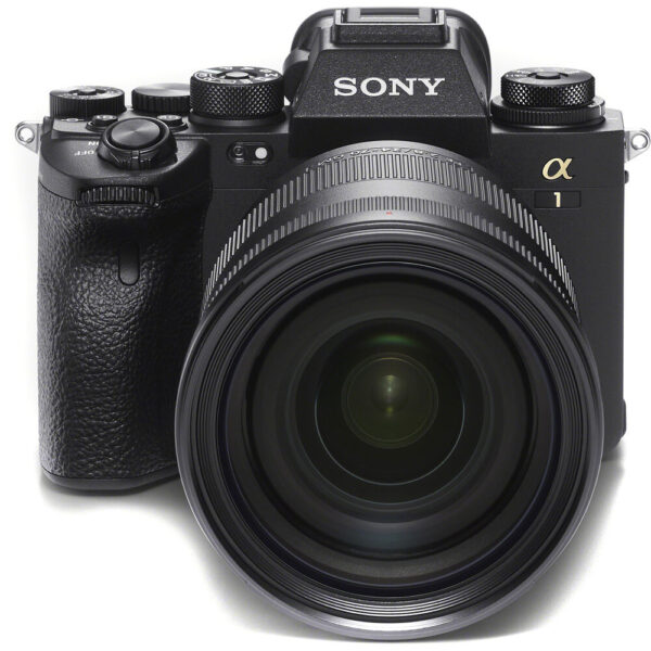 Sony Alpha 1 A1 with lens