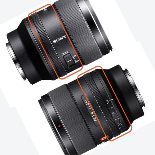 Sony FE 35mm f1.4 GM Lens