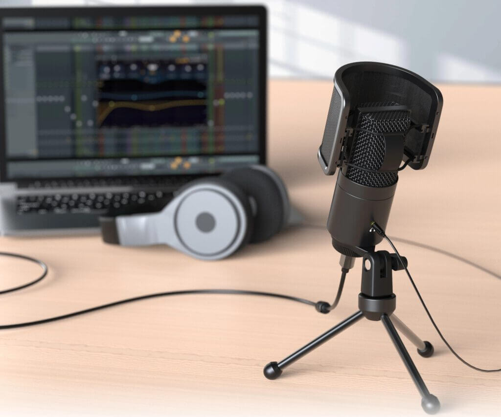 FIFINE K683A TYPE C USB MIC WITH A U-SHAPE POP FILTER
