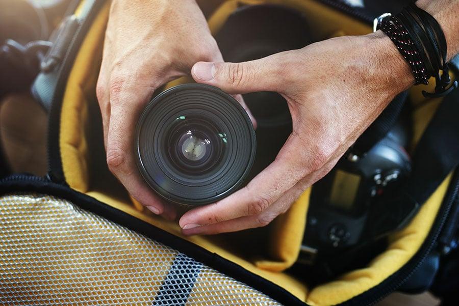 วิธีป้องกันเชื้อรา-กล้อง-เลนส์-เลี่ยงใส่กระเป๋ากล้อง
