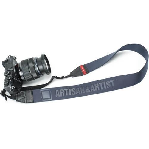 Artisan & Artist ACAM-130 Nylon Camera Strap (Navy)