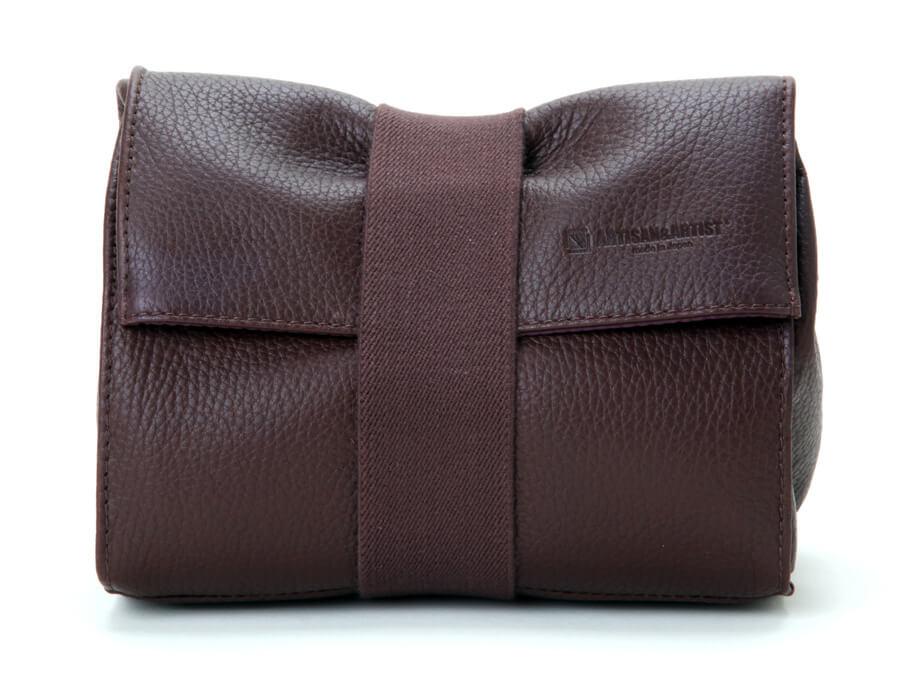 Artisan Artist ACAM 78 BRN Soft Leather pouch Brown3