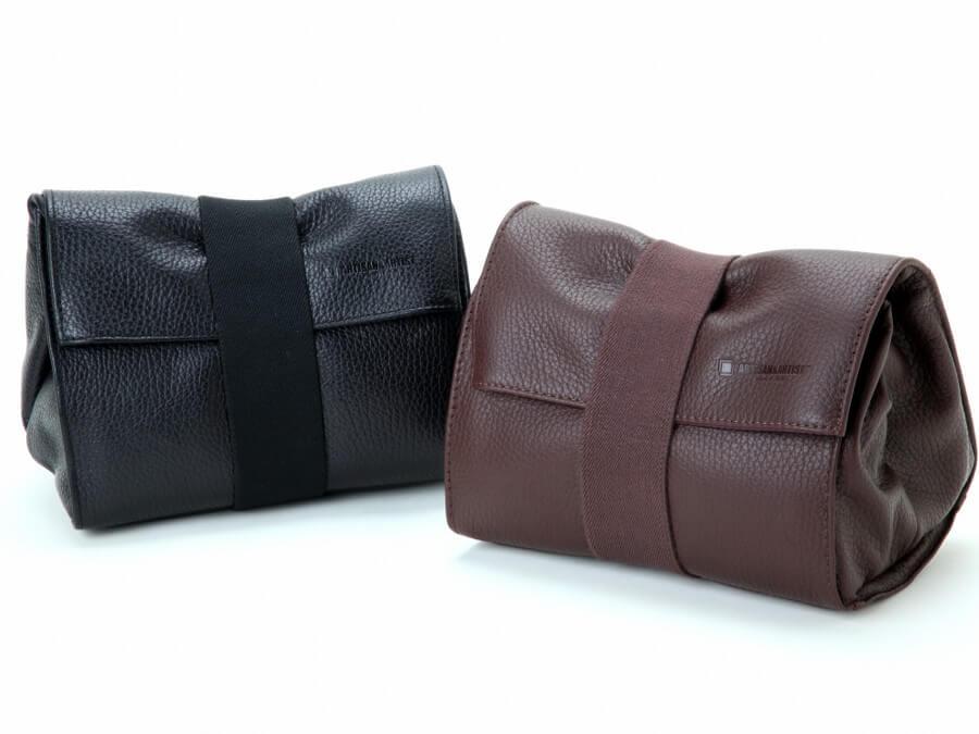 Artisan Artist ACAM 78 BRN Soft Leather pouch Brown5
