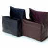 Artisan & Artist ACAM-78 Soft Leather Pouch (Black)2