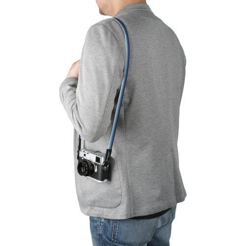 Artisan Artist Silk camera strap NavySilver4