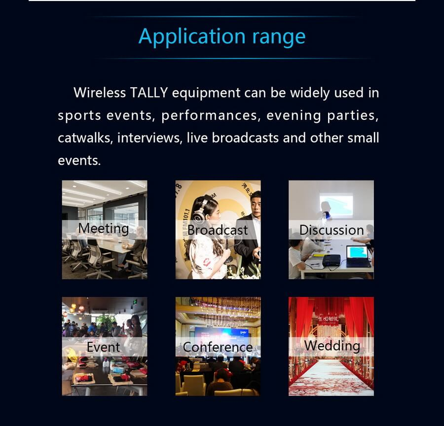 Devicewell MD1010-1011 Wireless Tally light transmitter