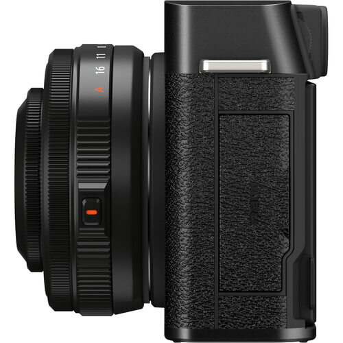 FUJIFILM X-E4 Mirrorless Digital Camera with XF 27mm f/2.8 R WR Lens Black