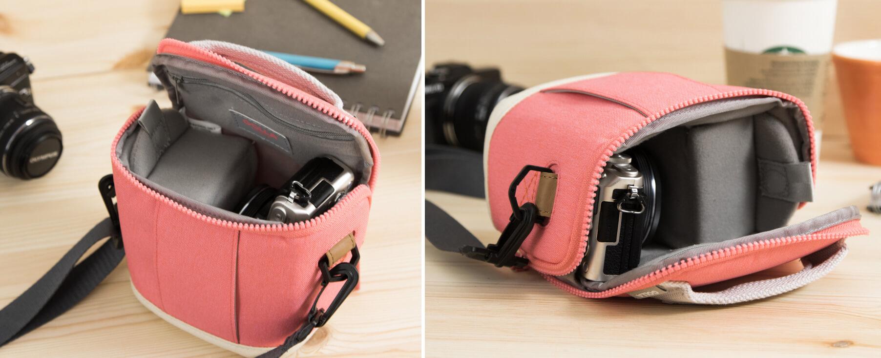 Golla G1749 Cam bag S Amber