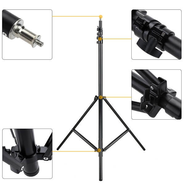OEM ขาตั้งไฟ Light Stand Set 2.8m