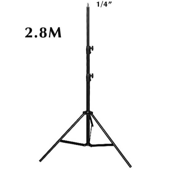 OEM ขาตั้งไฟ Light Stand Set 2.8m 4