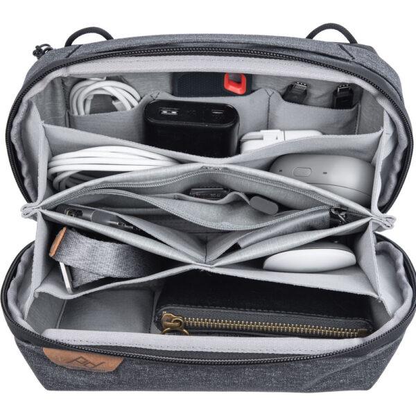 Peak Design (BTP-CH-2) Travel Tech Pouch for Travel Bag Charcoal