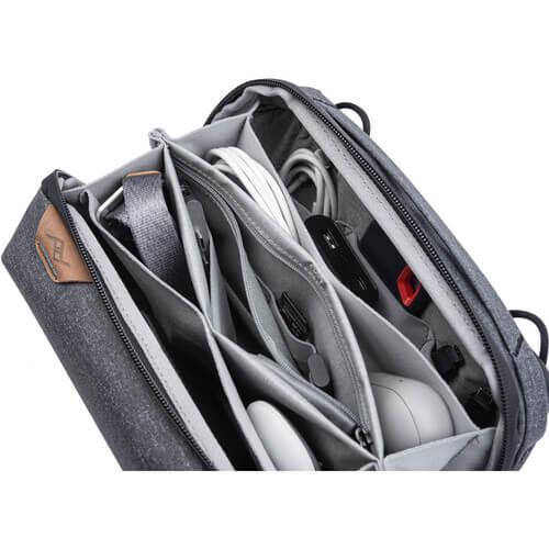 Peak Design Travel Tech 2L Pouch Charcoal 4