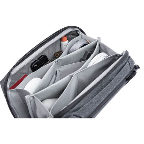 Peak Design Travel Tech 2L Pouch Charcoal 5