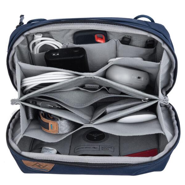 Peak Design (BTP-MN-2) Travel Tech Pouch for Travel Bag Midnight
