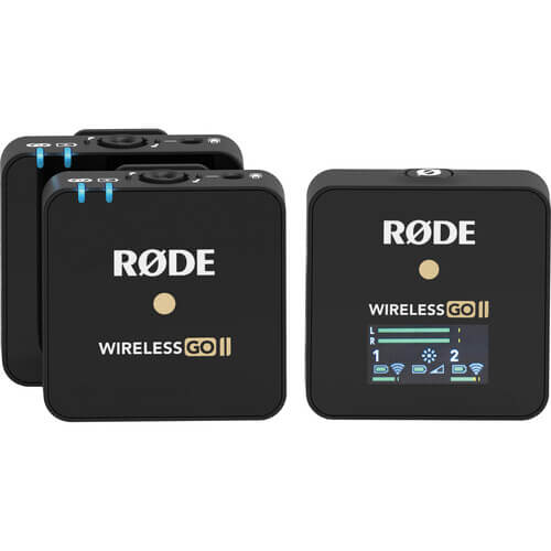 Rode Wireless GO II Digital Wireless Microphone