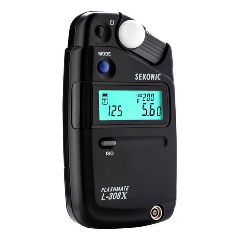 Sekonic L-308X Flashmate Light Meter