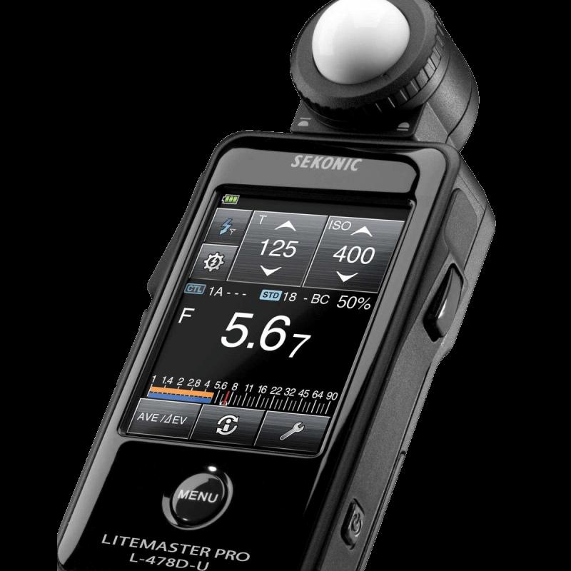 Sekonic LiteMaster Pro L-478DR-U Light Meter