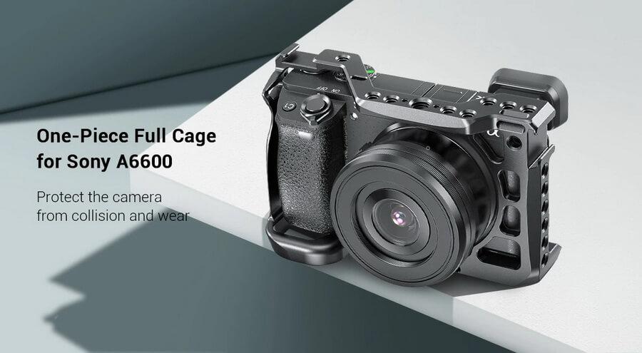 SmallRig Cage for Sony a6600 Camera 9