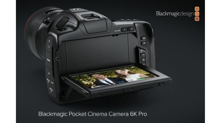 Blackmagic 6K Pro Tilt LCD