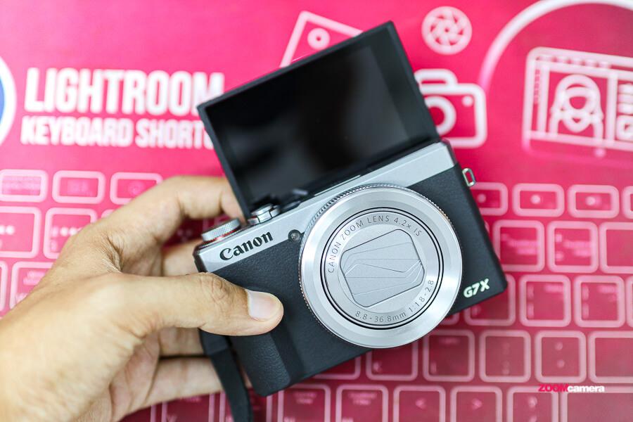canon G7X iii กล้องสำหรับสาย Video Live streaming 1