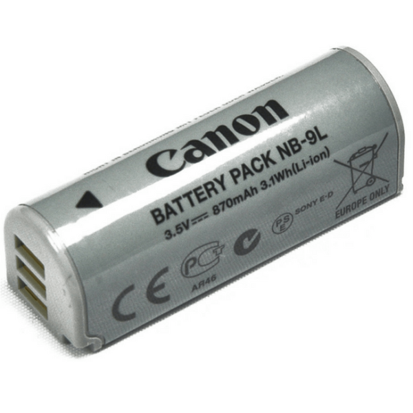 Canon Battery NB 9L for Compact Camera Models 4