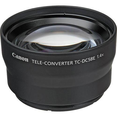 Canon TC-DC58E 1.4x Tele-Converter for PowerShot G15 Digital Camera