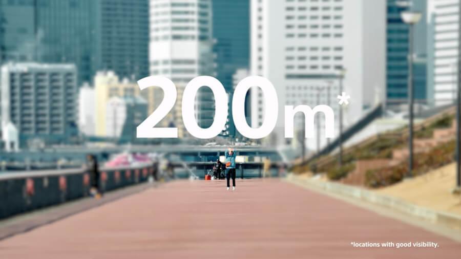 Sony ECM W2BT 200 meter