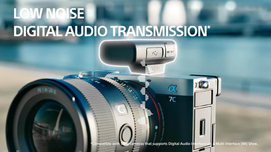 Sony ECM W2BT low noise