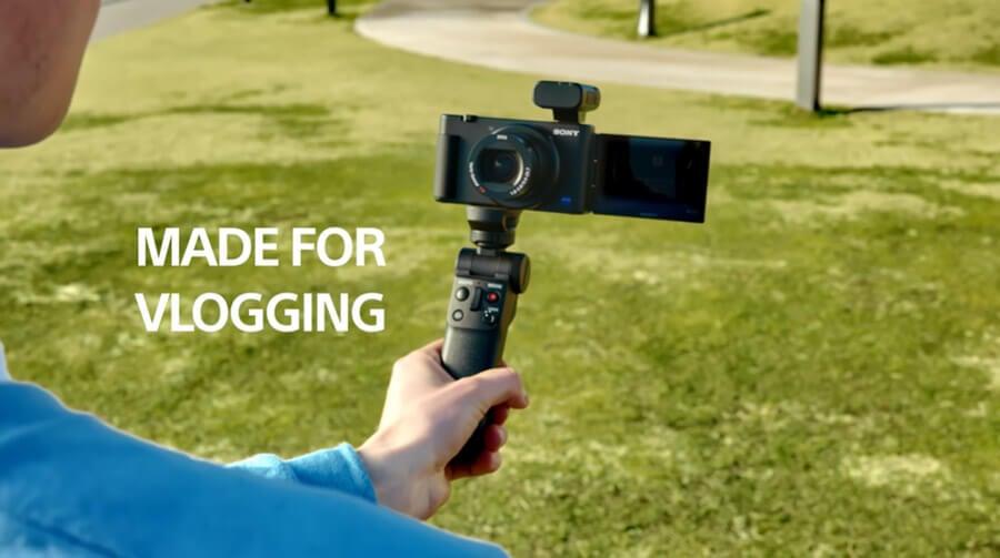 Sony ECM W2BT made vlogging