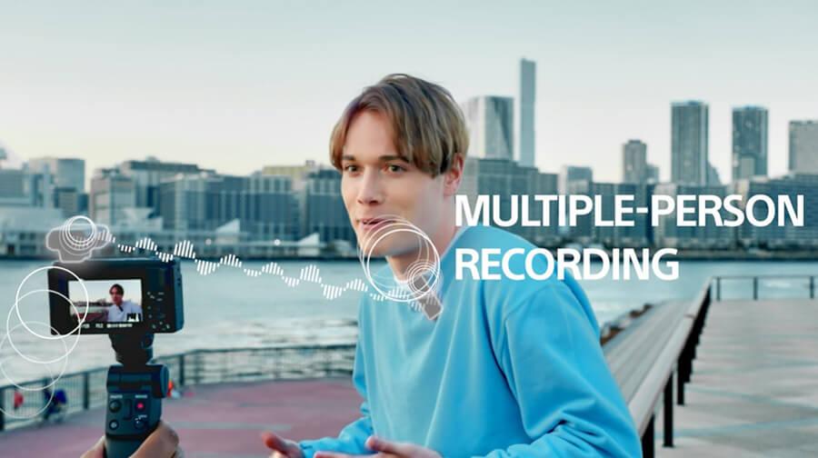Sony ECM W2BT multi recording