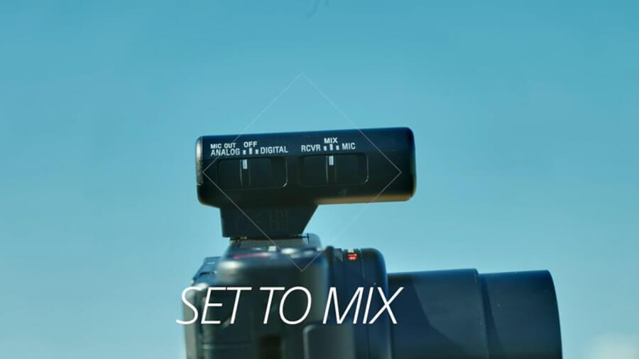 Sony ECM W2BT set