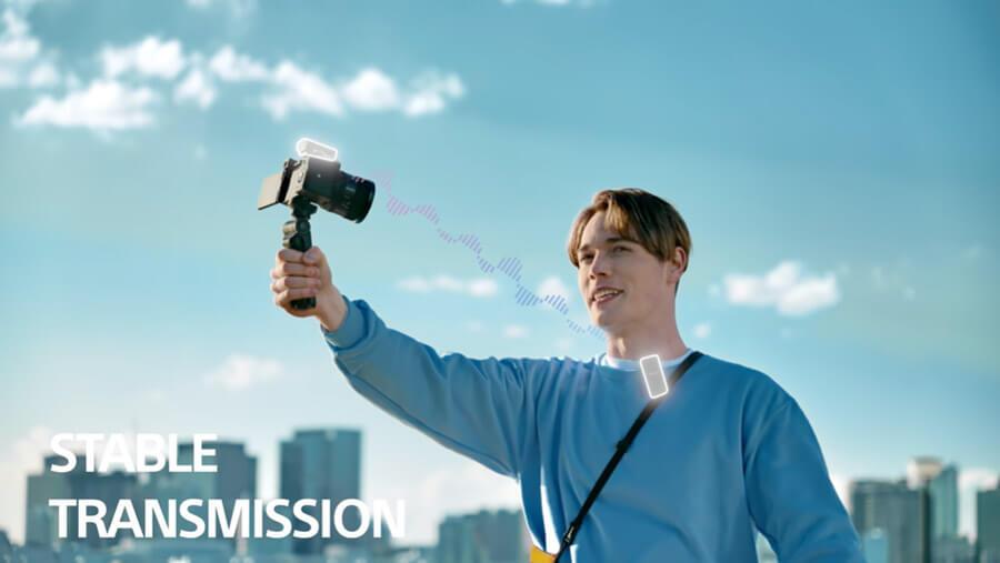 Sony ECM W2BT stable transmission