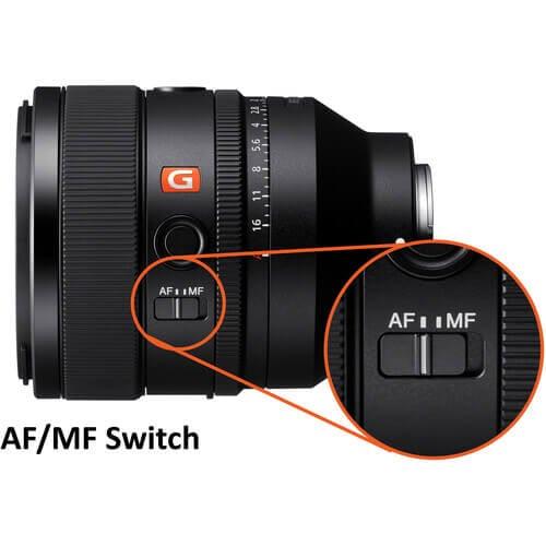 Sony FE 50mm f1.2 GM Lens
