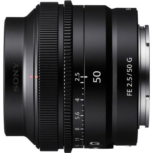 Sony FE 50mm f/2.5 G Lens
