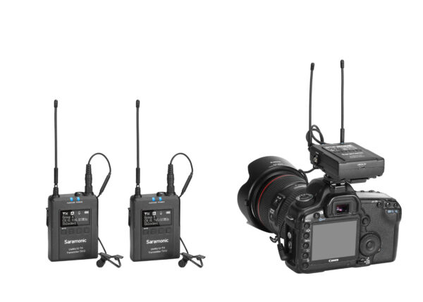 Saramonic UwMic12-TH Kit 2 ไมค์ไร้สาย UHF Wireless Microphone