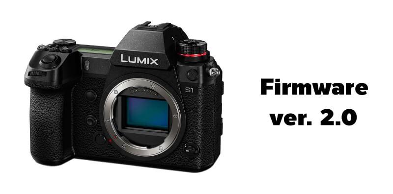 อัพเฟิร์มแวร์ Lumix S1