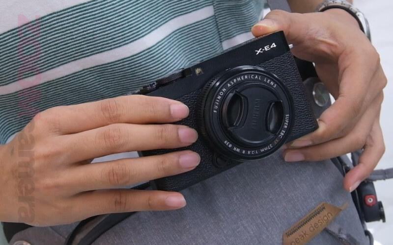 รีวิว Fujifilm X-E4 ภาพตัวอย่าง