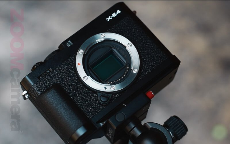 รีวิว Fujifilm X-E4 Sensor