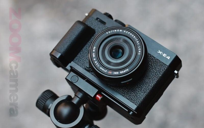 รีวิว Fujifilm X-E4 XF 27mm F2.8
