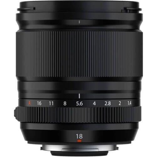 FUJIFILM XF 18mm f/1.4 R LM WR Lens