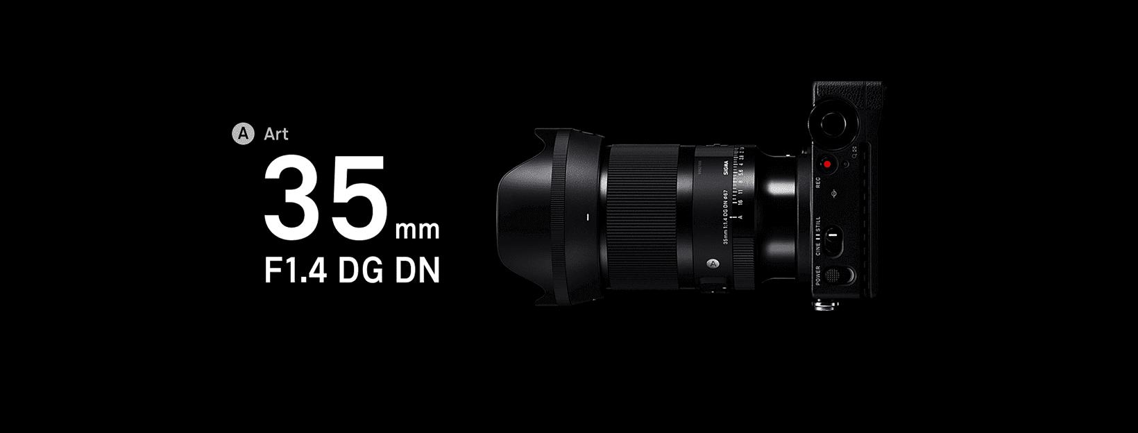Sigma 35mm f/1.4 DN DG Art Lens