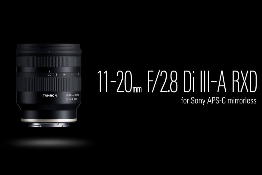Tamron 11 20mm f2.8 Di III A RXD Lens for Sony E 18