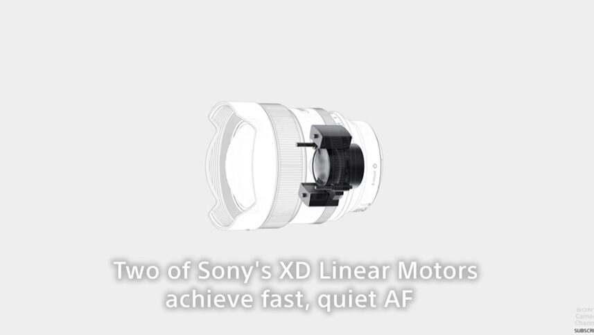 sony fe 14mm f1.8 gm xd linear motor edited