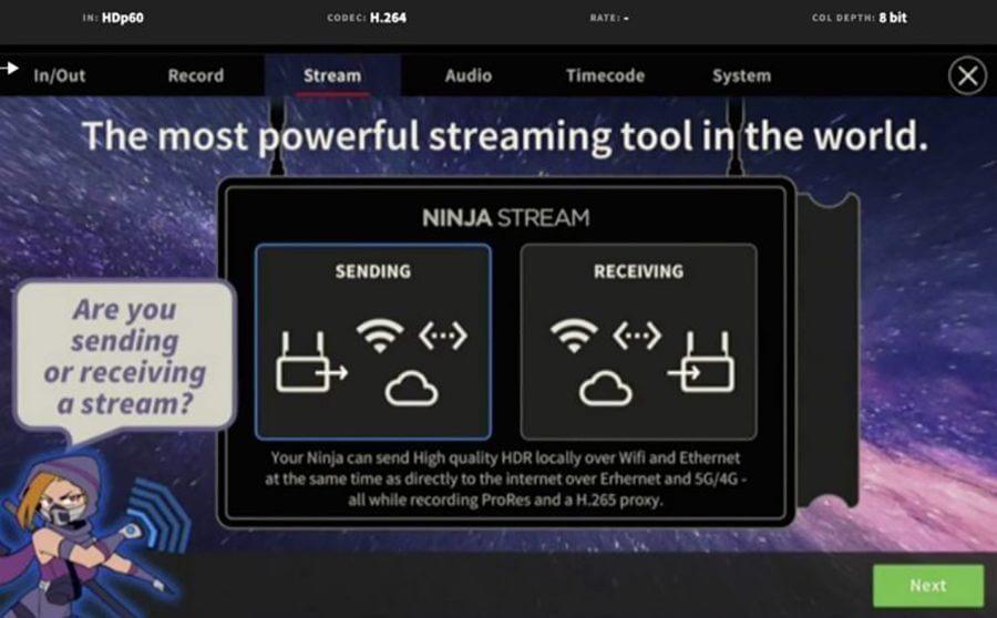 atomos ninja v and atomos ninja v and ninja stream ninja stream data 1