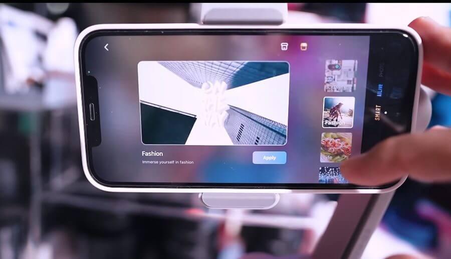 zhiyun smooth q3 smart mode