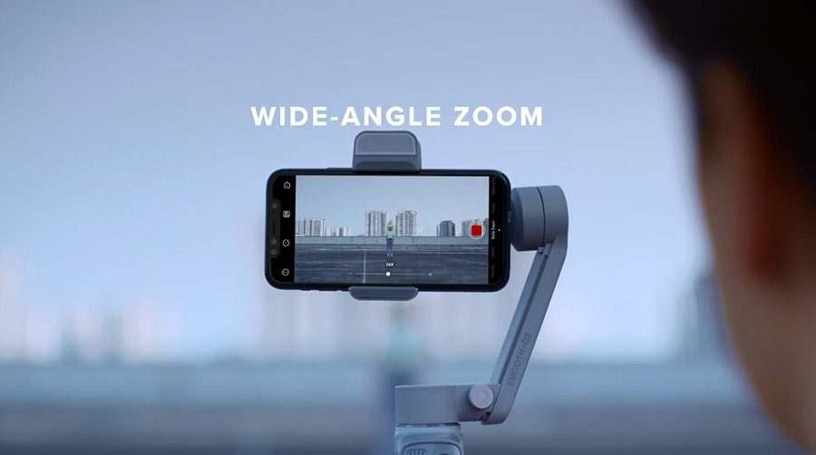 zhiyun smooth q3 wide angle zoom