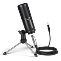 MAONO AU-PM360TR Recording Microphone kit with XLR-to-3.5mm Cable