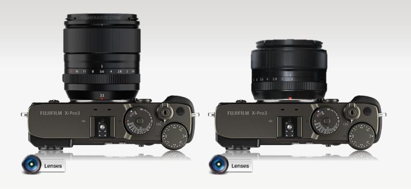 FUJIFILM XF 33mm f1.4 R LM WR vs FUJIFILM XF 35mm f1.4 R